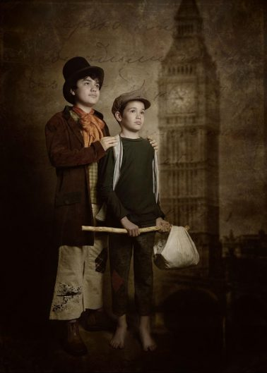 "Cartel ""Oliver Twist - El Musical"""