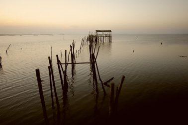 Embarcadero abandonado. Portugal