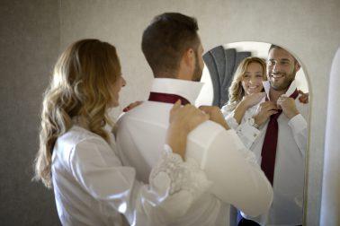 Fotografía de preparativos de boda