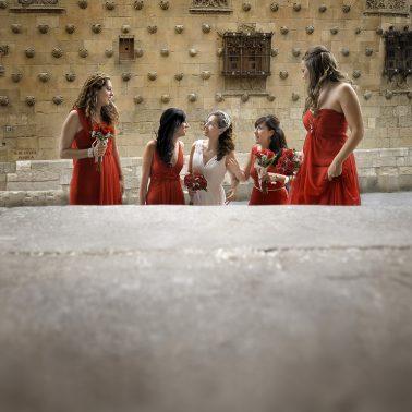 Reportaje de boda en la Clerecía de Salamanca