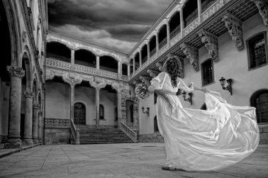 Vestido griego de novia