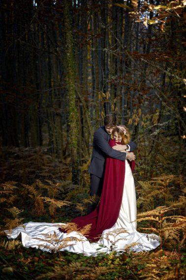 Post-boda en otoño