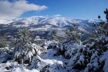 Paisajes nevados para ampliaciones