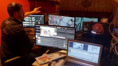 Grabación de documentales, cine y televisión